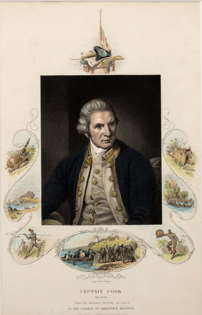 NATHANIEL DANCE (1735-1811)  Captain Cook from the