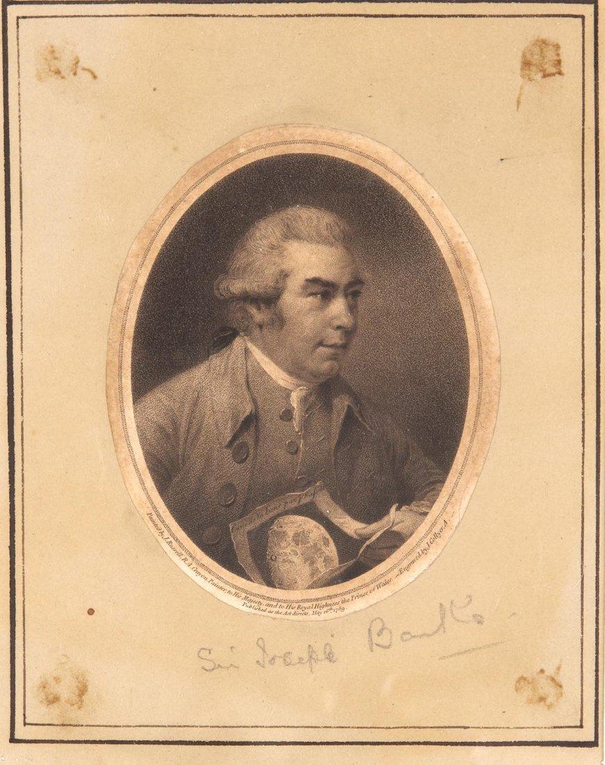 JOHN RUSSELL (BRITISH, 1745-1886)Portrait of Sir Joseph