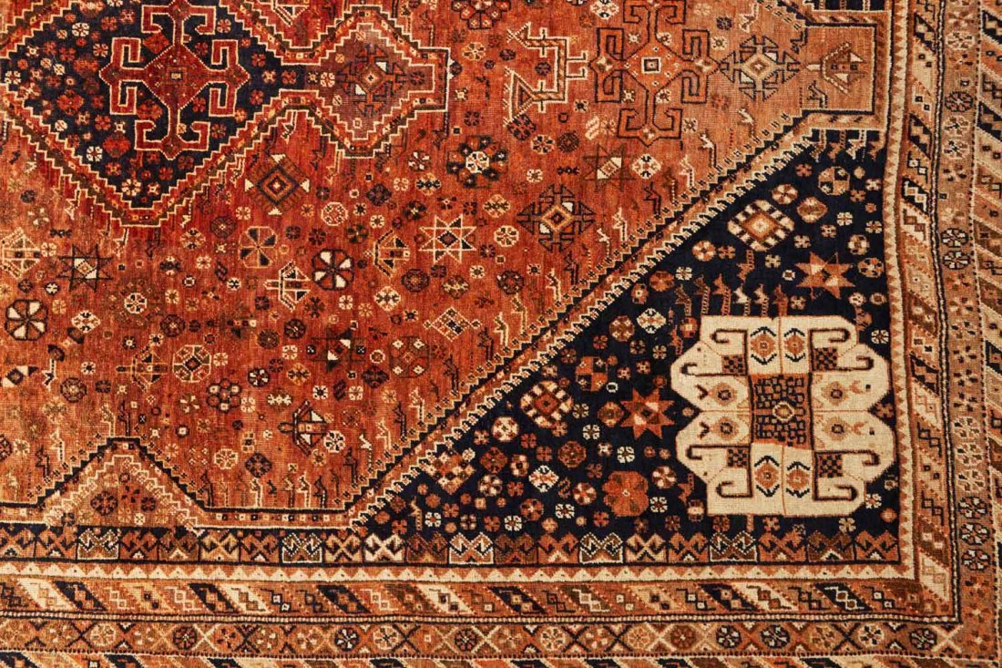 A Southern Persian tribal rug, Fars province, early