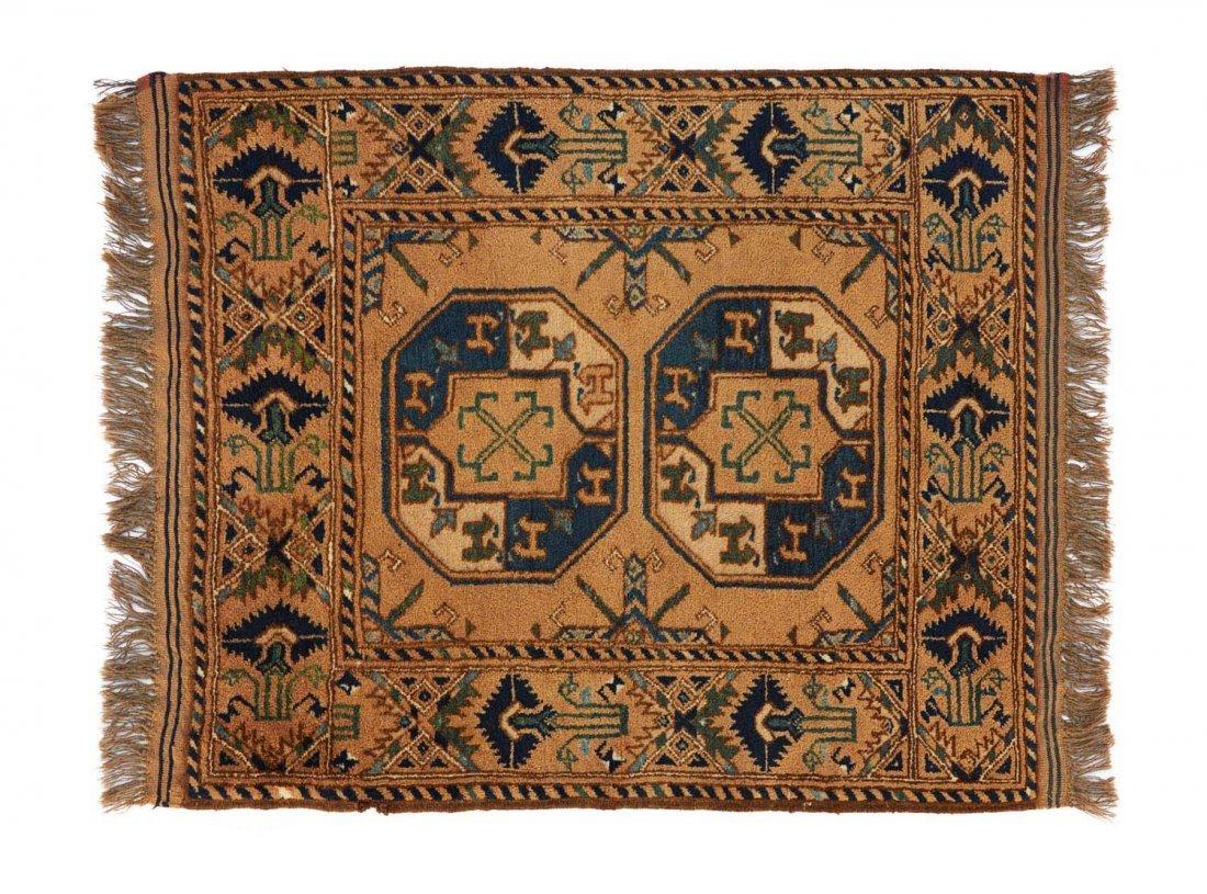 Ersari tribal rug, Afghanistan, late-20th century131 x