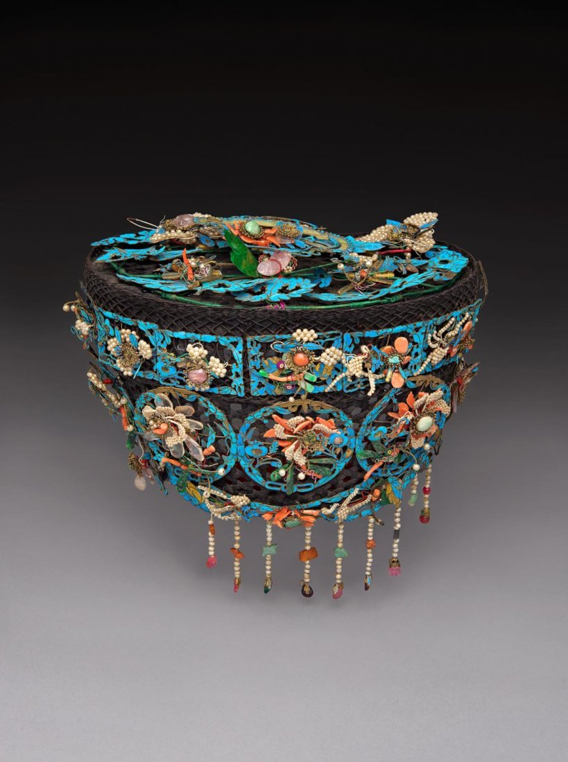 A superb Chinese headdress, early 20th century