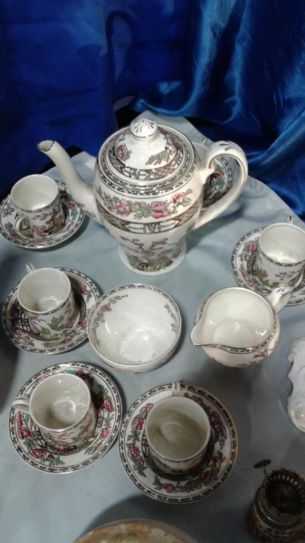 Coffee set porcelain 6 cups