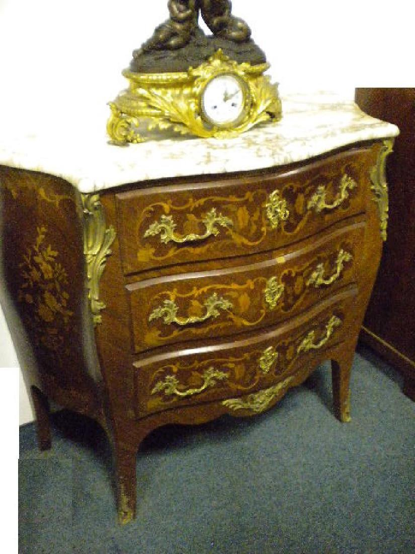 Marquetry kingwood chest