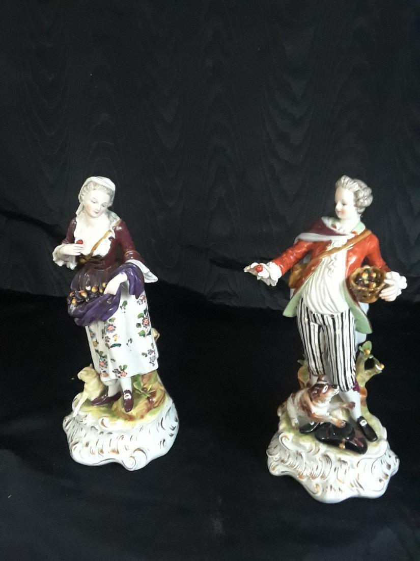 Pair of Porcelain Figurines