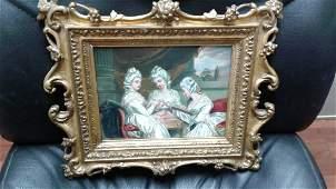 Portait of three ladies