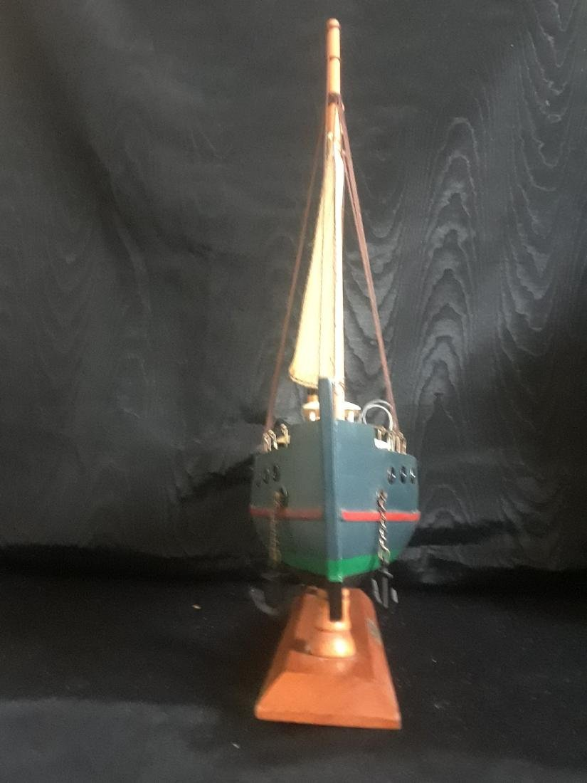 fishing boat with sail - 5