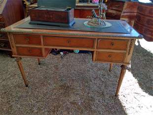 ormolu mounted mahogany desk