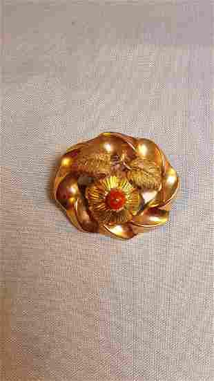 19th century brooch