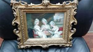 Portrait of three ladies