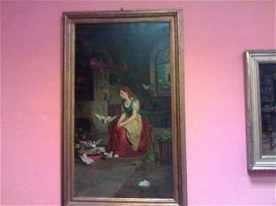 Italian very important painting