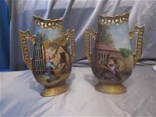 French Pair of vases