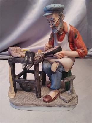 Cobbler biscuit figurine