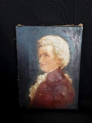 Oil Painting Portrait of a Gentleman