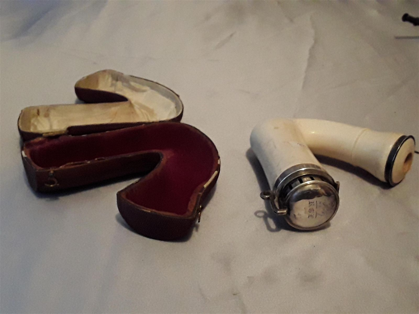 meerschaum tobacco carved pipe