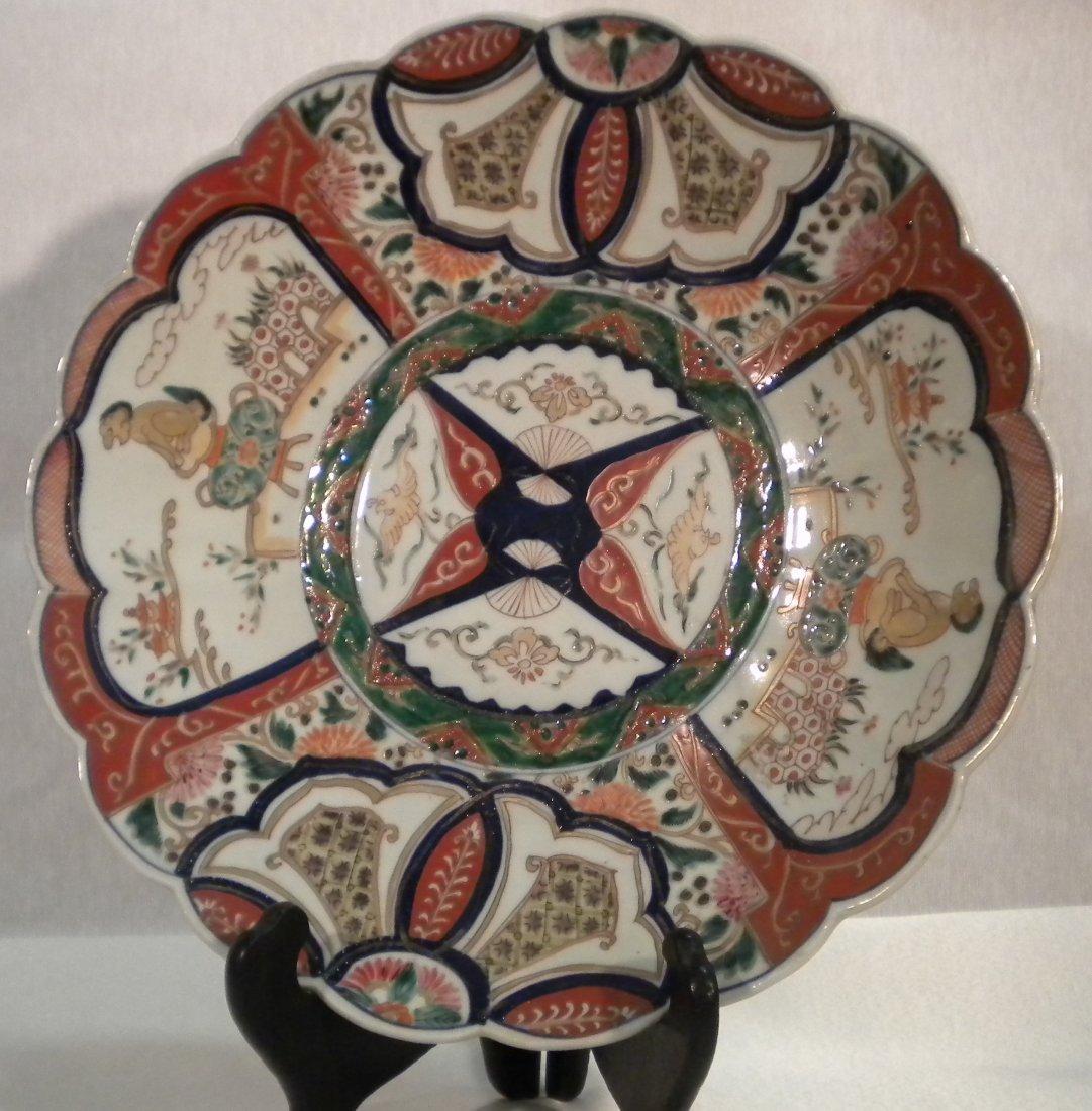 2: Imari porcelain plate