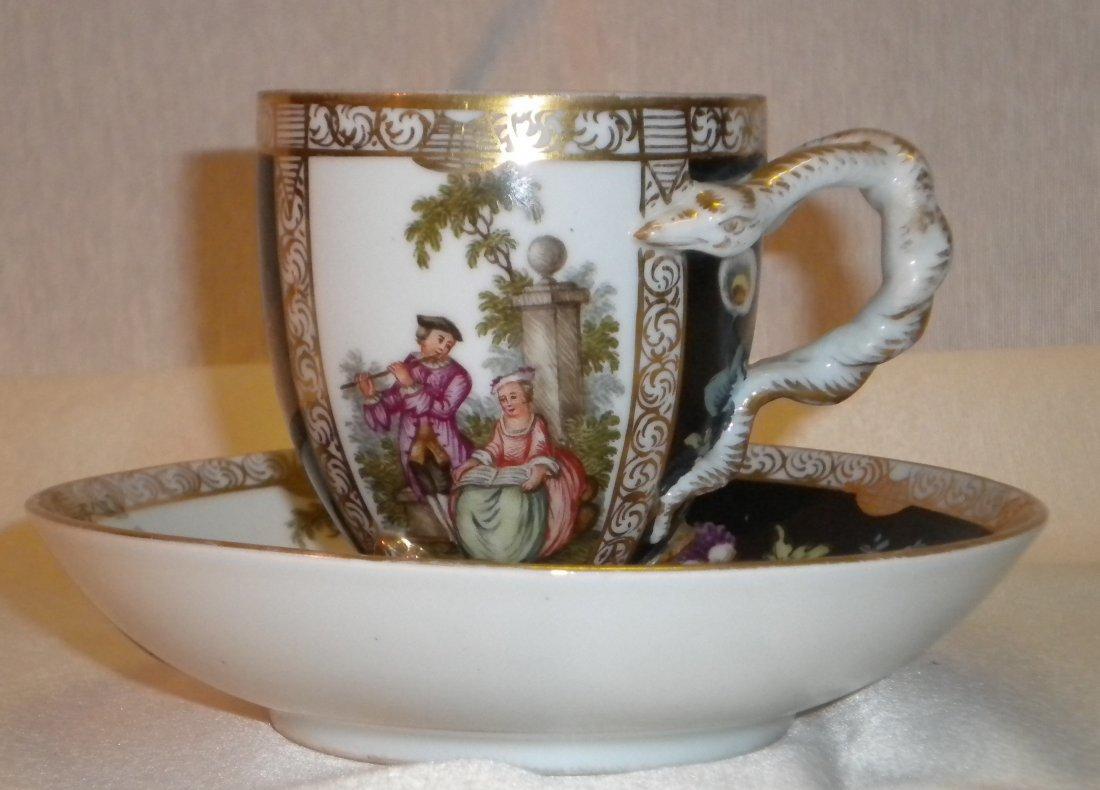 4: Porcelain tea cup