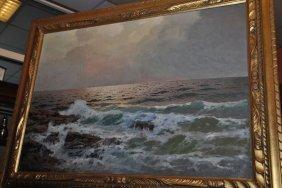 20th Century Capri Painting