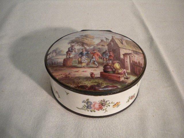 6: Great enamel box