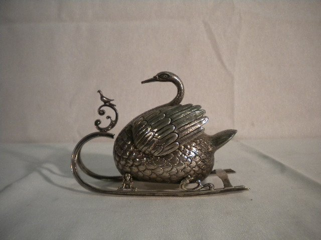 8: German silver sleigh