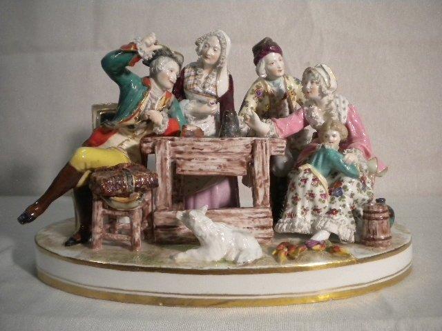 11: Porcelain group