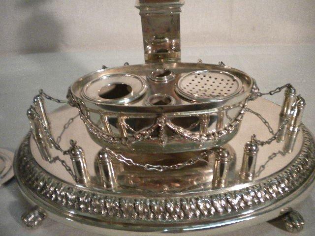 21: Scheggi silver inkstand - 2
