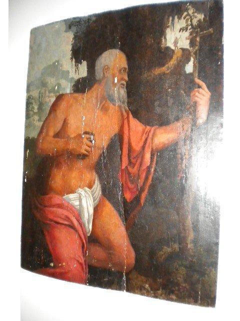 3: 18th Century painting on wood