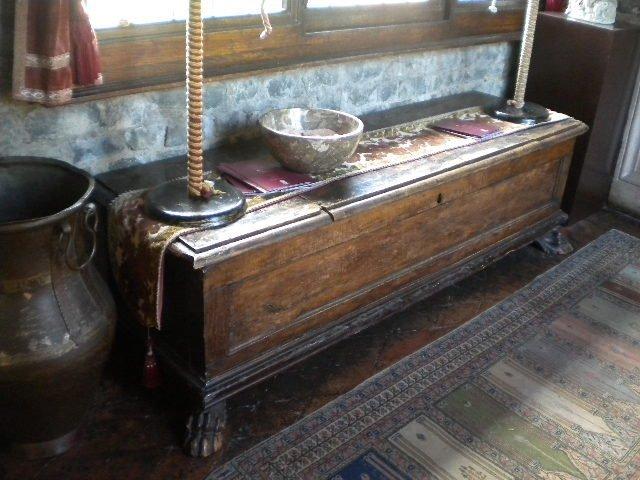20: Italian blanket chest of 16th century