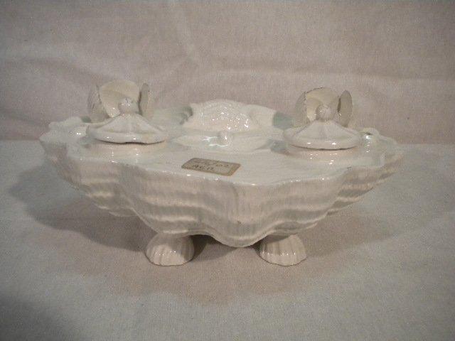 Pottery inkstand
