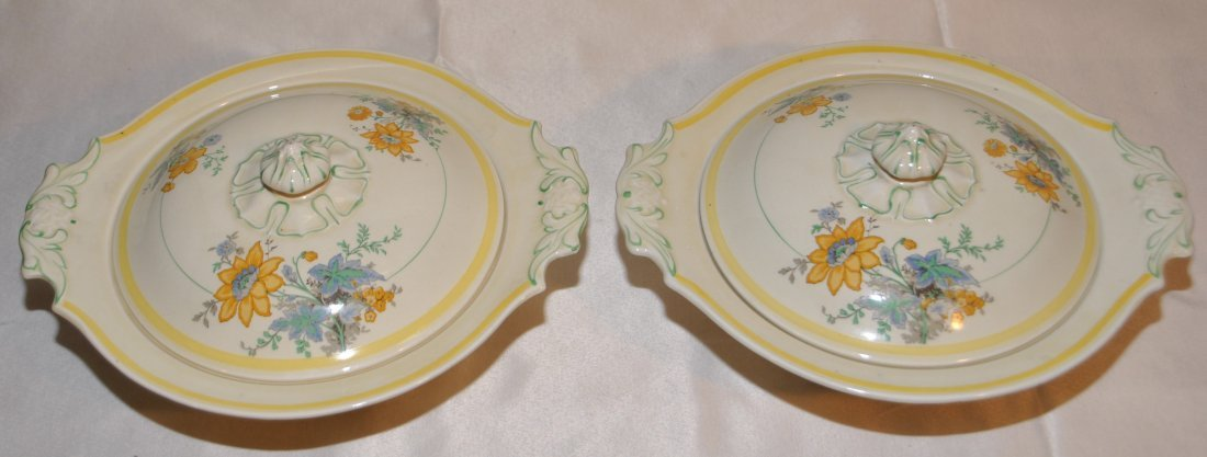 Pair of oval tureens