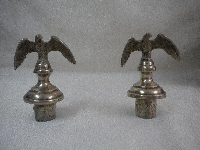 Silver cork eagles