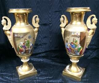 Pair of Empire vases