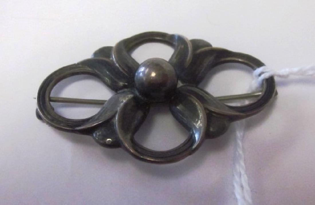 Sterling Georg Jensen brooch