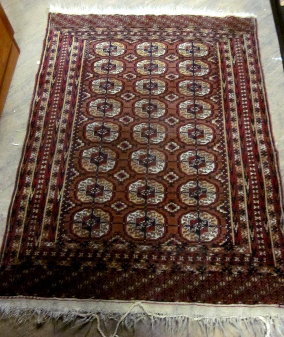 20th c Oriental Carpet Bokhara