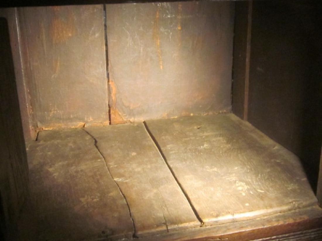 18th c  Oak Court Cupboard - 4