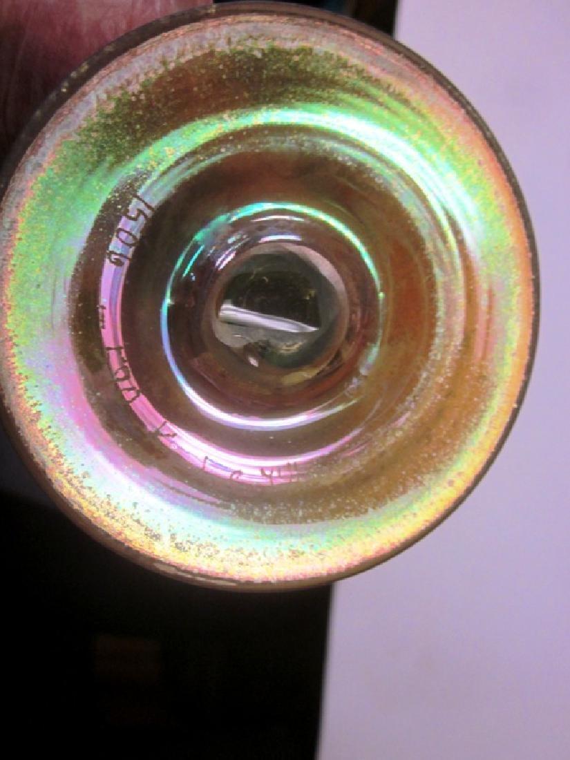 Tiffany Bud Vase, Signed - 3