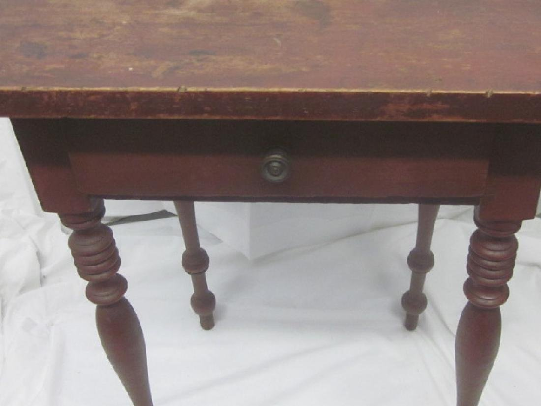 19th c Light Stand w/ 2 Drawer's - 2