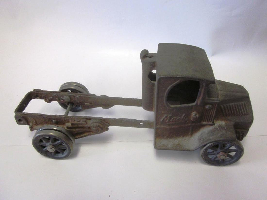 Toy Cast Iron Mack Truck