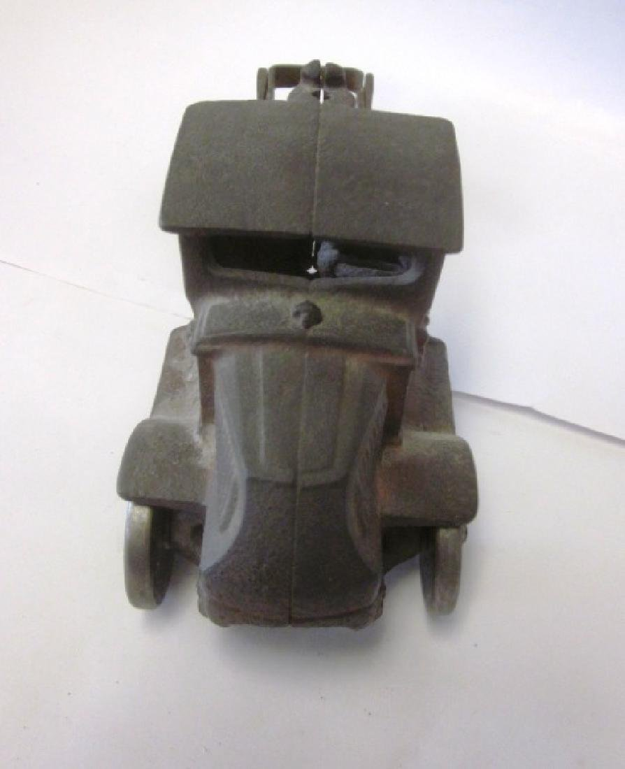 Toy Cast Iron Mack Truck - 3