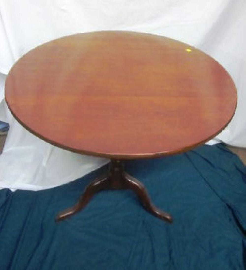 19th c  Mahogany Tilt Table