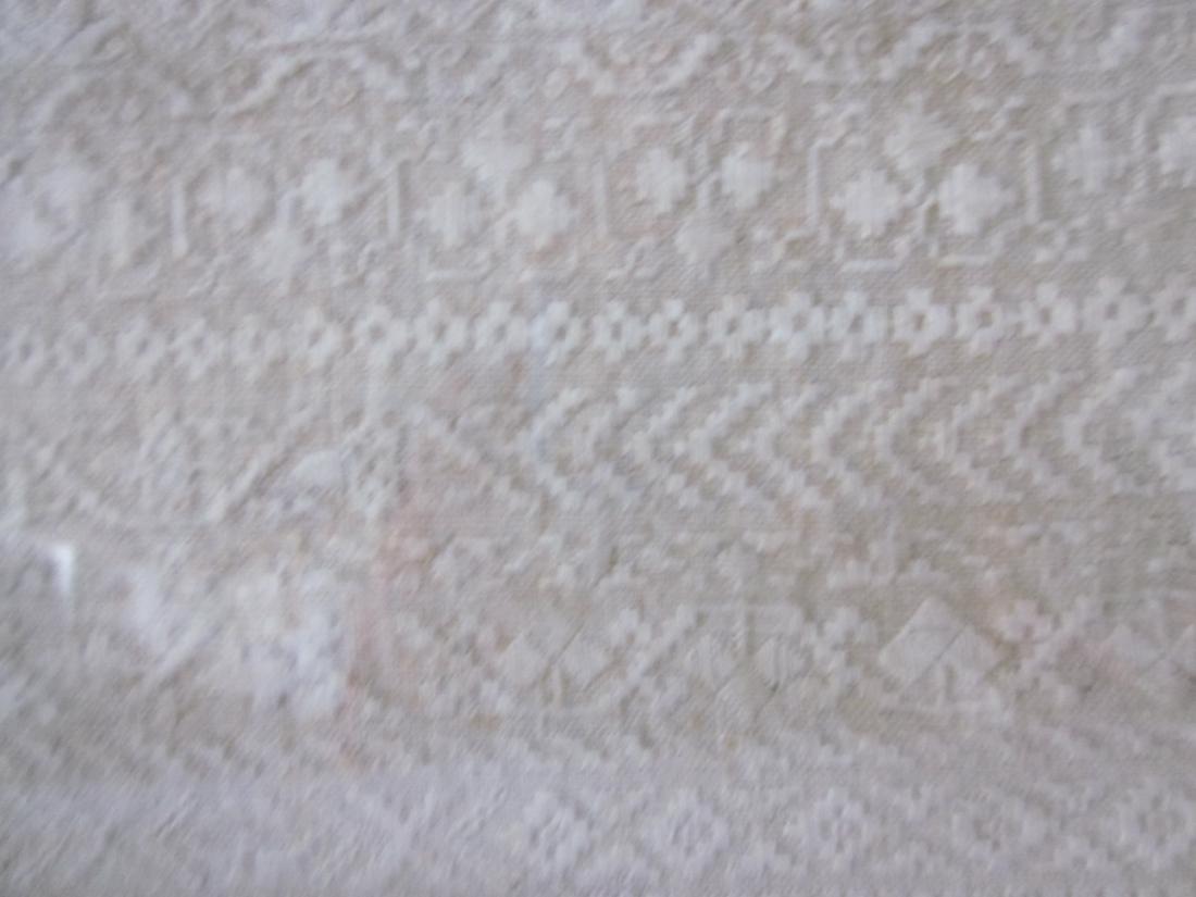 19th c Sampler, White Needlework - 5