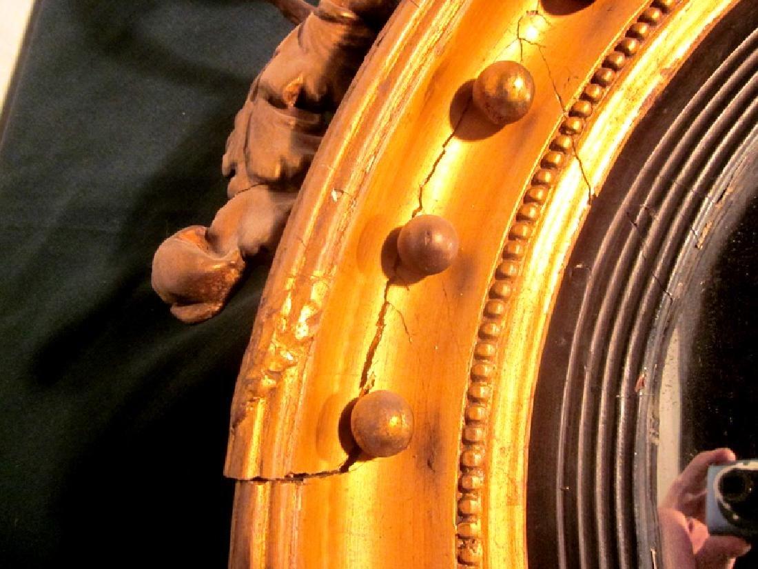 19th c American Girandole Mirror - 6