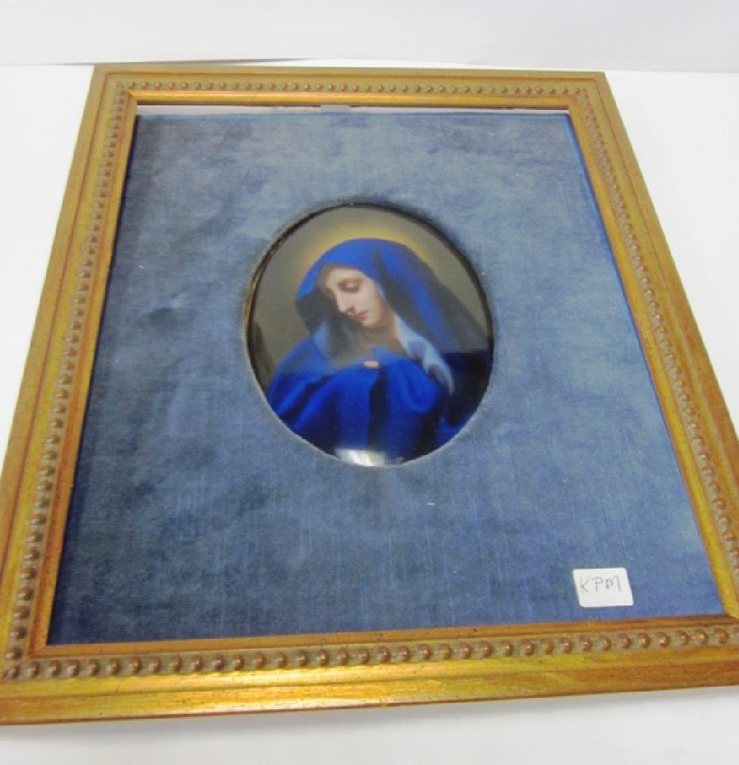 19th c KPM Porcelain Plaque