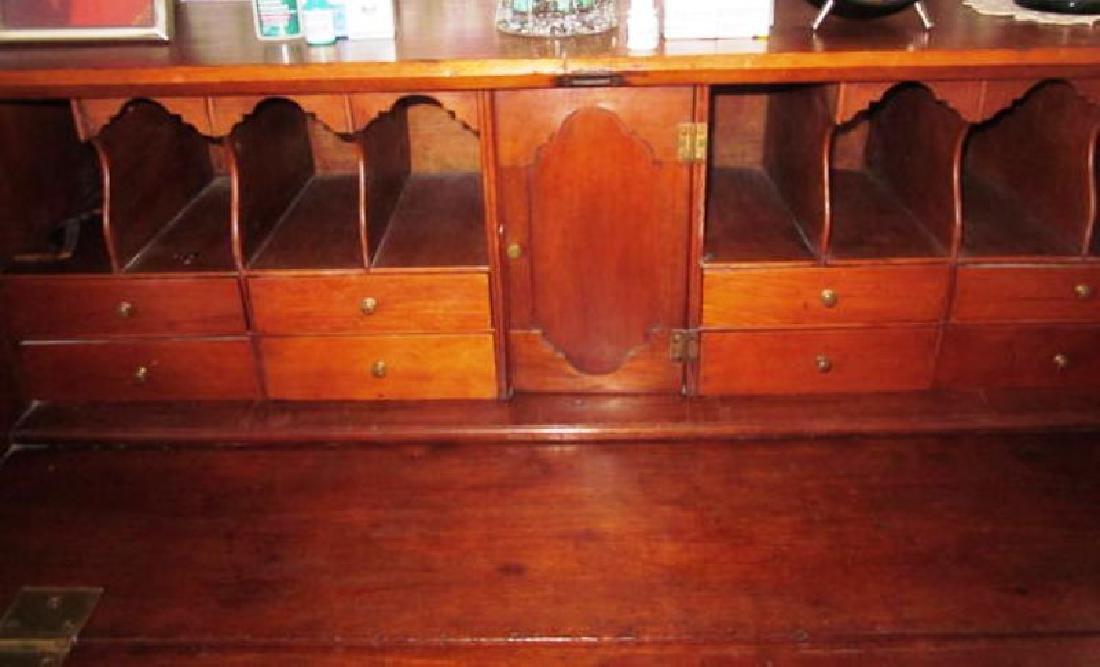 19th c Four Drawer Walnut Desk - 2