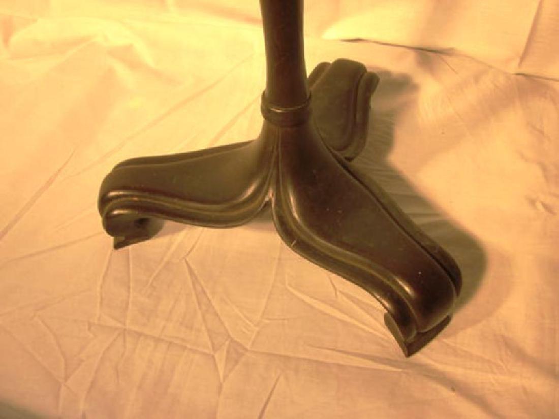 20th c Handel Bronze Floor Lamp w/Handel shade - 2