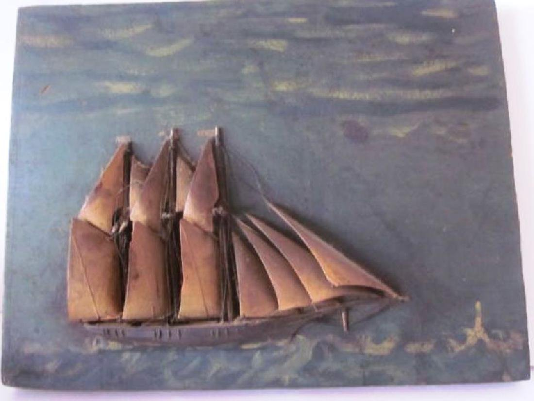 Ship, Oil Painting