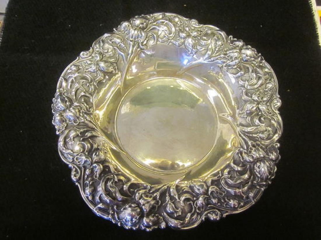 Sterling Repousse Dish
