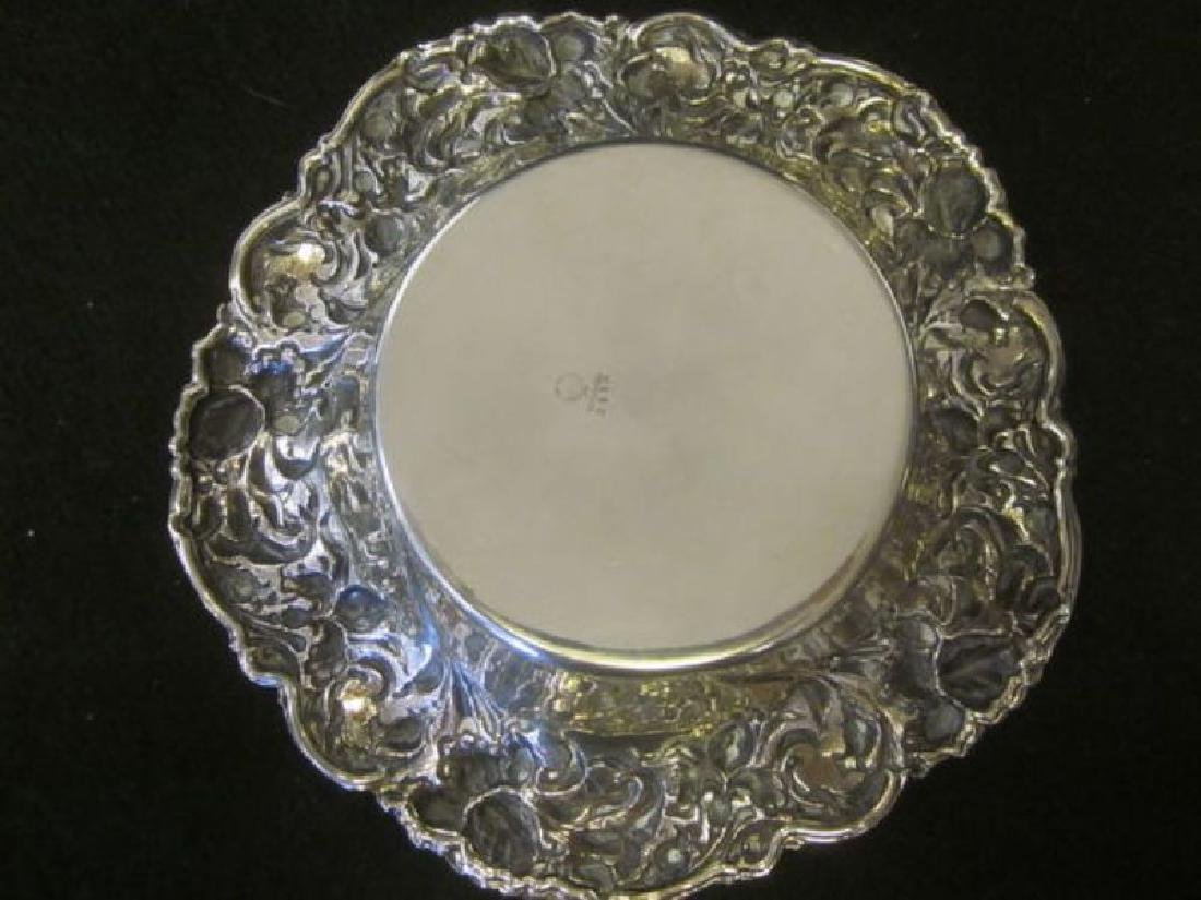 Sterling Repousse Dish - 2