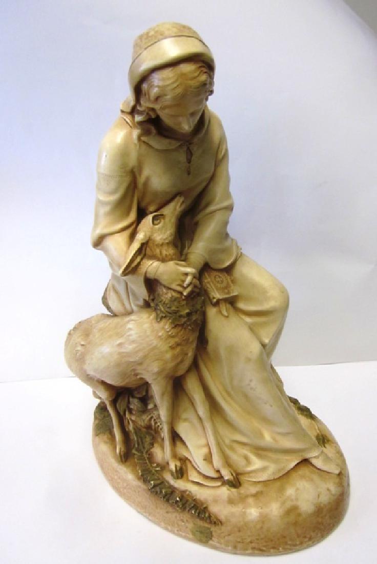 Chalkware Madonna Figure