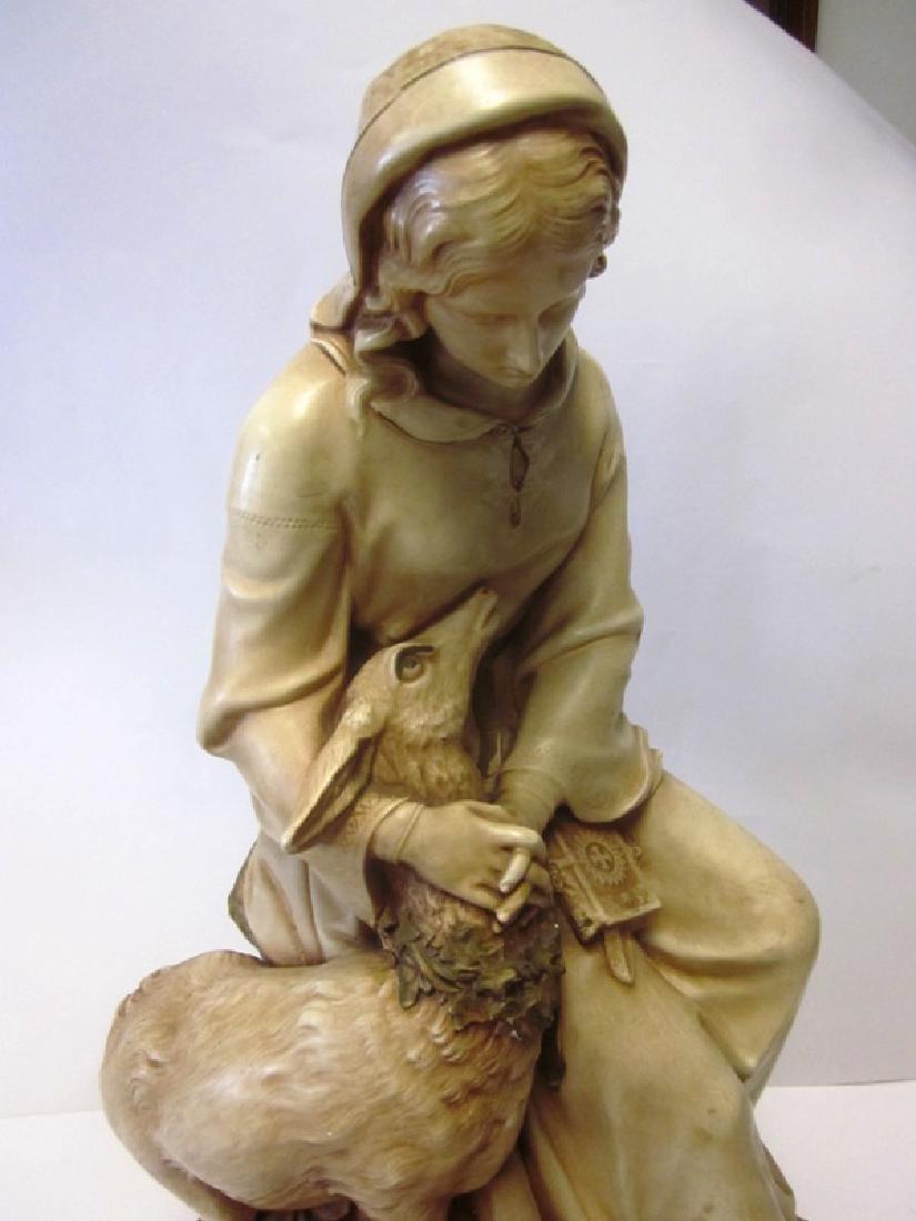 Chalkware Madonna Figure - 2
