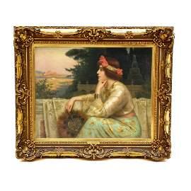 Antonio Torres Fuster (1874-1945 Spain) painting